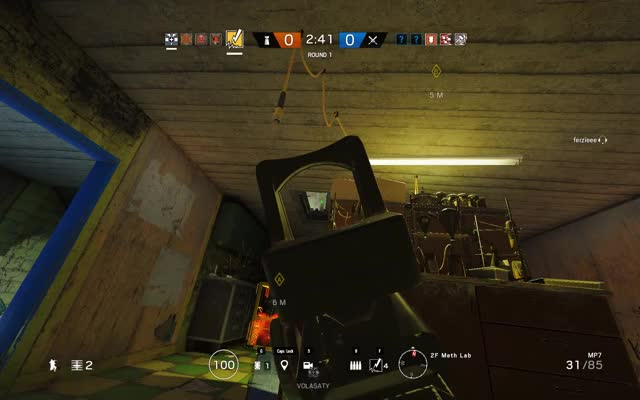 Rainbow Six Siege - Bandit C4 quad kill