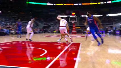 Watch and share Avery Bradley And Andre Drummond — Detroit Pistons GIFs by Off-Hand on Gfycat