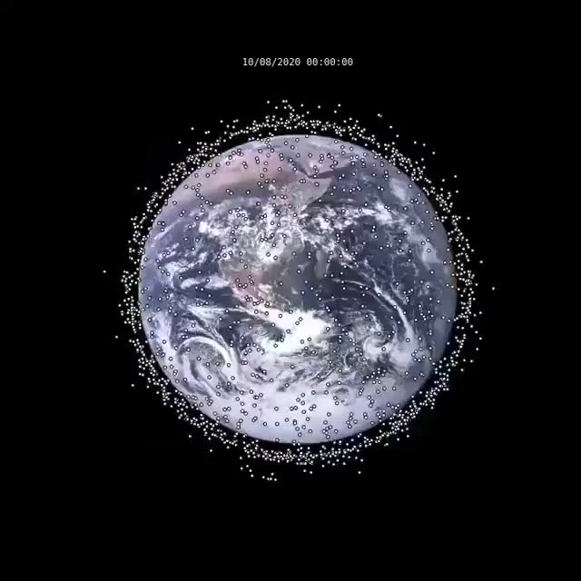 Watch and share Satellites GIFs and Earth GIFs by agedcheese on Gfycat