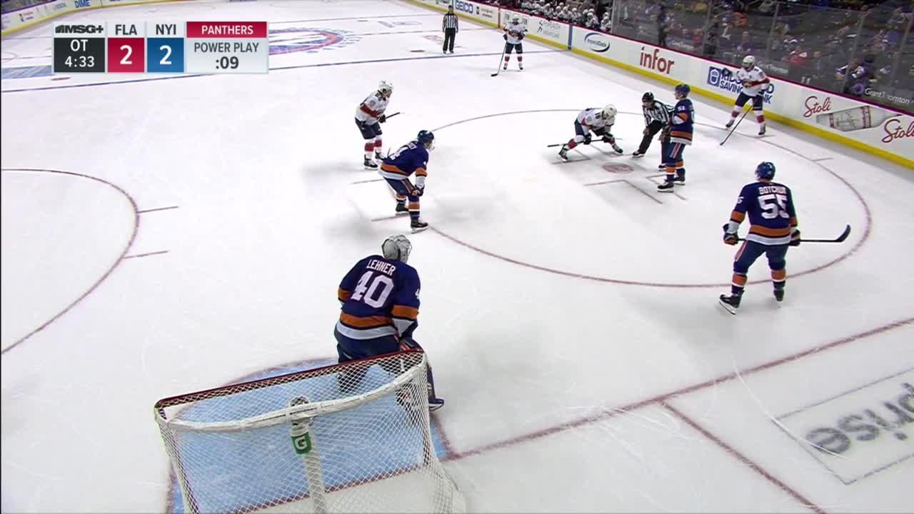 hockey, Islanders Panthers Full OT GIFs