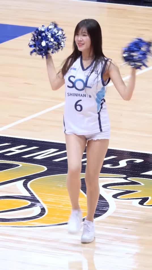 ahn ji hyun, basketball, cheerleader, 안지현, 치어리더, 치어리더 안지현 cheerleader ahn ji hyun GIFs