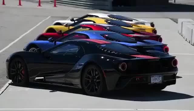 Watch and share Ford GT 2017 | Race Mode GIFs on Gfycat