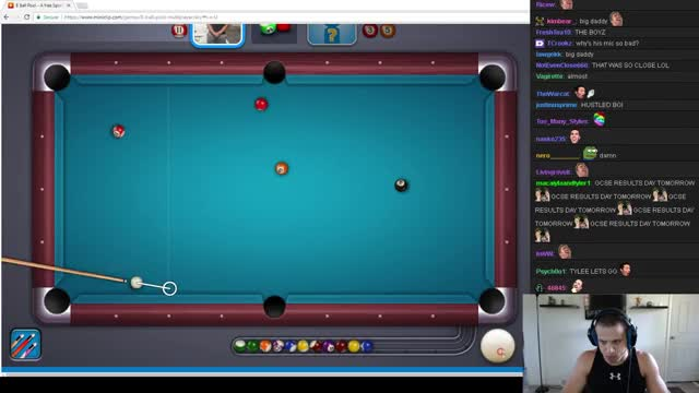 Tyler1 vs Greekgodx - 8 Ball Pool Gameplay (EXTREMELY FUNNY)