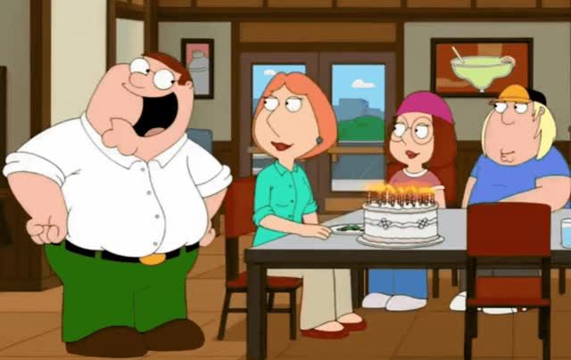 Watch this birthday GIF by GIF Queen (@ioanna) on Gfycat. Discover more birthday, cake, candles, celebrate, clap, didn't, family, frozen, funny, griffin, guy, happy, happy birthday, lol, mouth, open, peter, surprised, tada, you GIFs on Gfycat