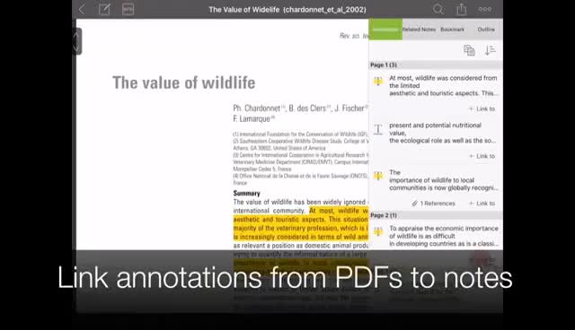 Watch and share Intro: NoteLedge IPad - Organize Notes & PDF Excerpts GIFs on Gfycat