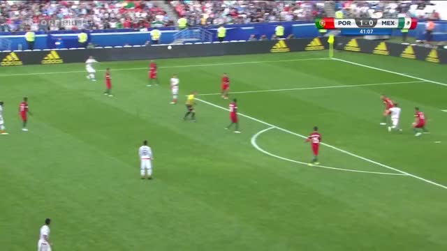 Watch and share (www.nGolos.com) Portugal 1-1 Mexico - J. Hernandez 41' (FIFA Confederations Cup - Group A) GIFs on Gfycat