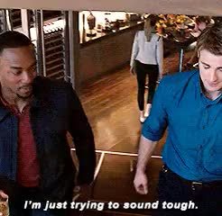 Watch OUTRAGEOUS GIF on Gfycat. Discover more avengers: aou, gif, mine, niiiice sam, sam wilson, steve rogers GIFs on Gfycat