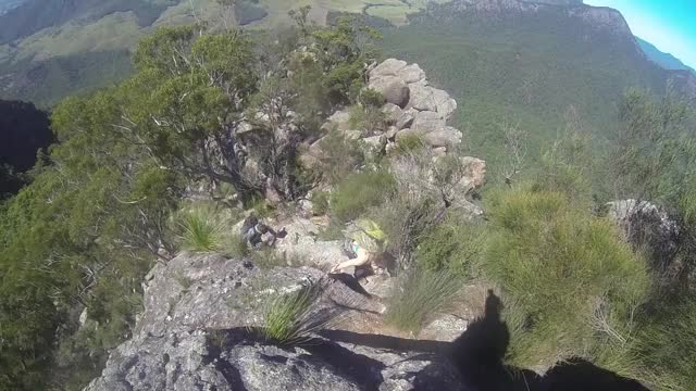 Watch and share Climbing GIFs and Hiking GIFs by thelifeaquatic on Gfycat