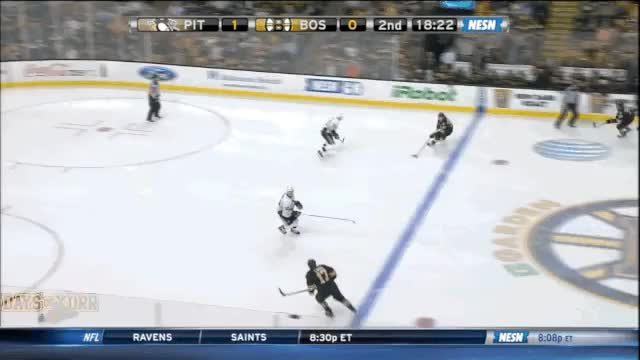 Watch and share Soderberg With The Spinning No Look Pass To Eriksson Who Patiently Waits To Slide It Over To Lucic For A Wide Open Goal. (reddit) GIFs by peteblackburn on Gfycat