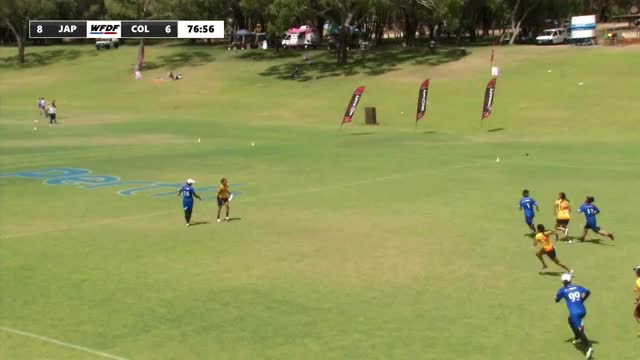 Watch WFDF World Under 24 Ultimate Championship: Japan vs Colombia - Women's GIF on Gfycat. Discover more Sports, World Flying Disc Federation, ultimate GIFs on Gfycat