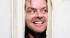 Watch this creepy GIF on Gfycat. Discover more creepy, jack nicholson, weird GIFs on Gfycat