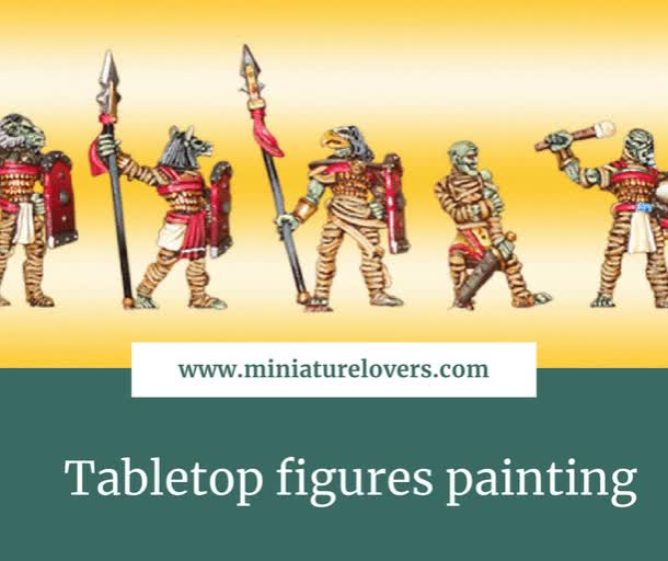 Watch Tabletop figures painting GIF by @miniaturelovers on Gfycat. Discover more Zinnfiguren GIFs on Gfycat