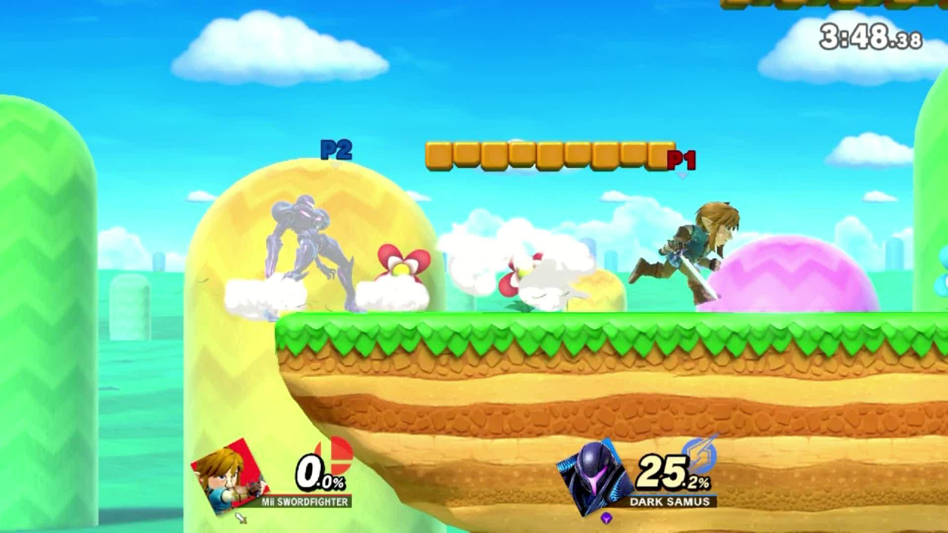 Dark Samus, SSBU, Smash Ultimate, Super Smash Bros. Dark Samus, Super Smash Bros. Samus, Super Smash Bros. Ultimate, From 0 to 74 in 4 seconds GIFs