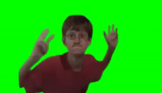 Watch and share Garoto Magrelo Dançando Memes Croma Key Para Baixar Fundo Verde Videos Para Editar GIFs on Gfycat