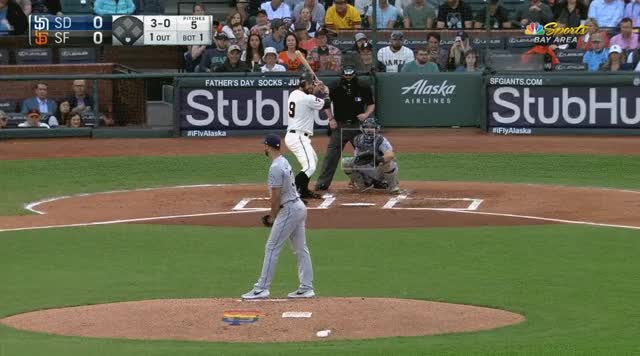 Watch and share Belt Bunt Padres GIFs by _ben_clemens on Gfycat