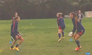 Watch and share Lauren Holiday GIFs and Amy Rodriguez GIFs on Gfycat