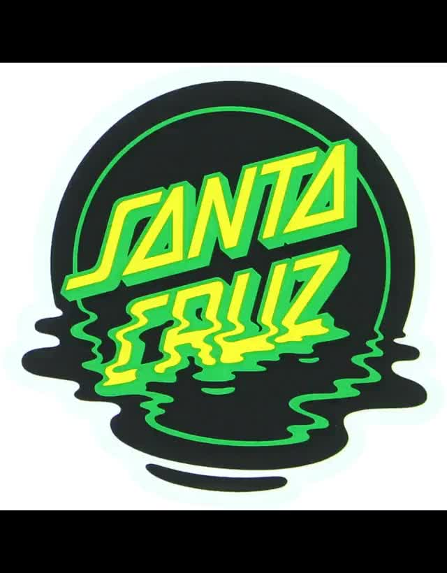 Watch and share Santa-cruz-santa-cruz-skateboards-3-x-3-dot-reflec animated stickers on Gfycat