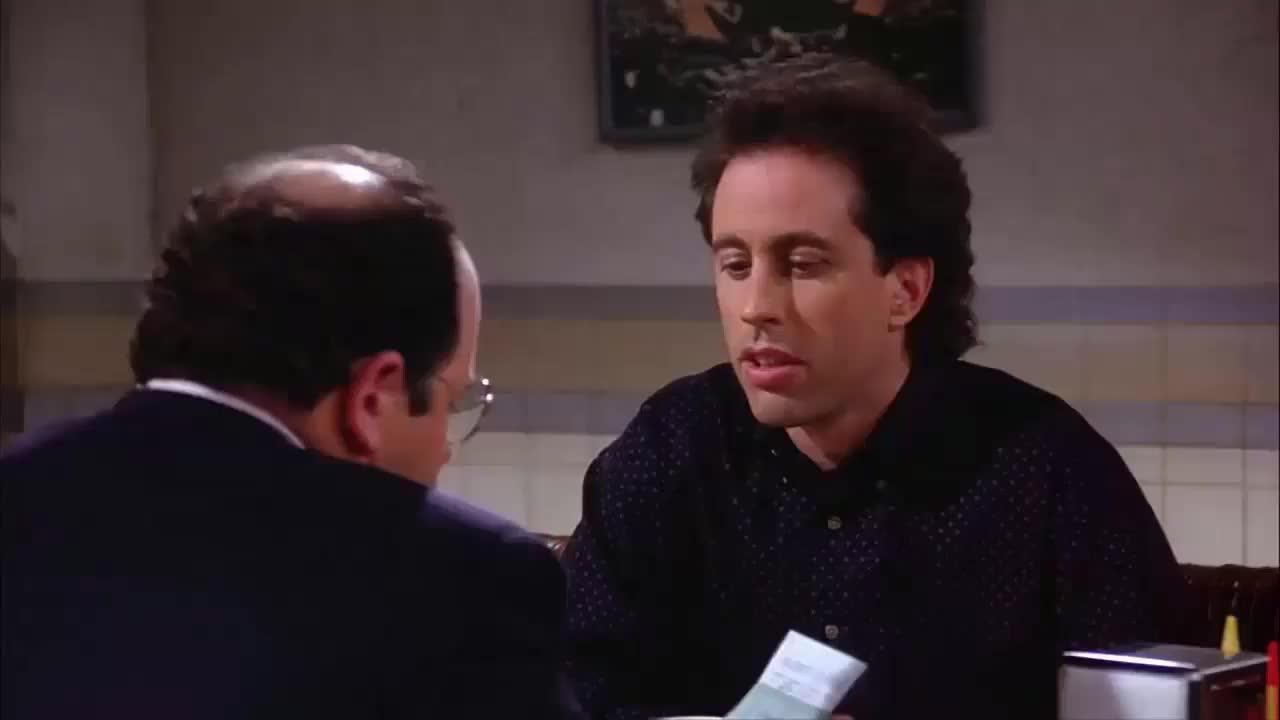 george costanza, jason alexander, jerry seinfeld, seinfeld, George Has the Upper Hand Seinfeld GIFs
