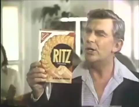 Watch this cracker GIF on Gfycat. Discover more 1978, Bumper, Promo, ad, commercial, cracker, crackers, ritz GIFs on Gfycat
