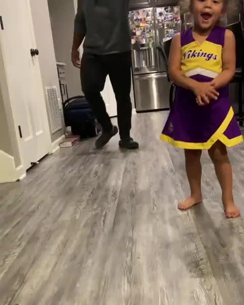 funny, unexpected, twerk, Daddy daughter dance GIFs