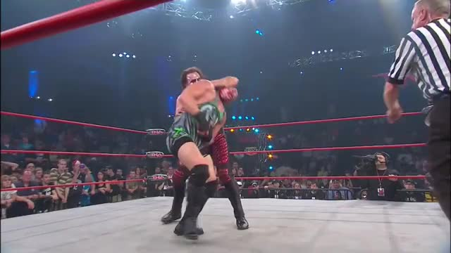 Watch and share RVD Gives Himself Sting's Finisher (reddit) GIFs on Gfycat