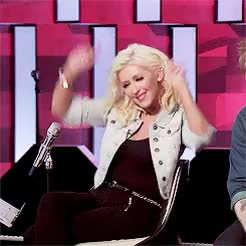 Watch and share Christina Aguilera GIFs on Gfycat