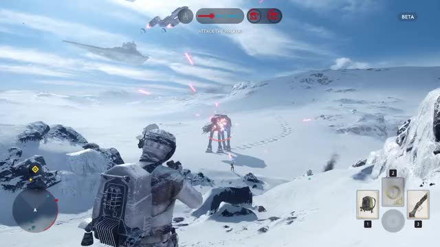Watch The Teamwork Was Real GIF by @ponylionhd on Gfycat. Discover more starwarsbattlefront GIFs on Gfycat