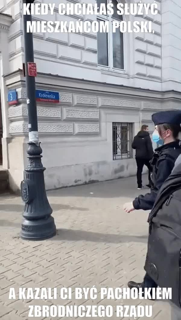 Watch and share FINALLY-poland-police-2021 GIFs on Gfycat