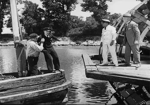 Watch and share Steamboat Bill Jr GIFs and Black And White GIFs on Gfycat