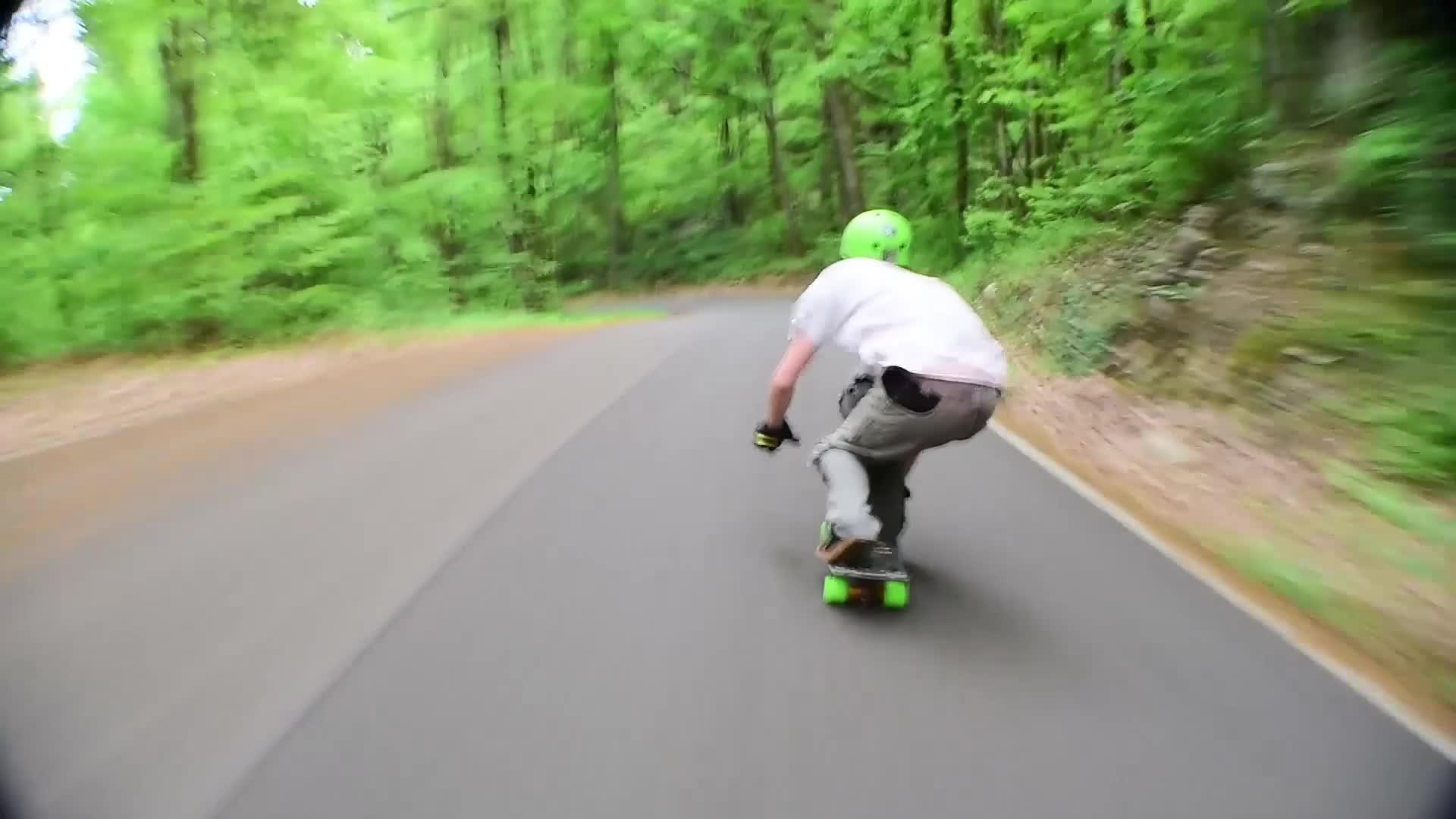longboarding, skateboard, skateboarding, ThreeSix Mini @ BFG GIFs