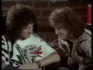 Watch and share Anita Dobson GIFs and Brian May GIFs on Gfycat