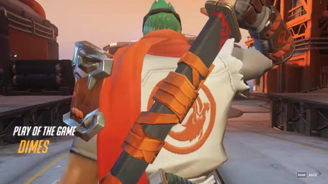Overwatch genji play of the game video