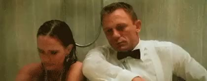 Watch and share Daniel Craig GIFs and James Bond GIFs by abirdofparadise on Gfycat