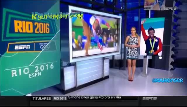 Watch and share Vanessa Huppenkothen - ESPN GIFs on Gfycat