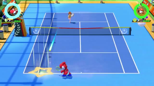 Watch and share Mario Tennis Aces GIFs and Neiluj95 GIFs by neiluj95 on Gfycat