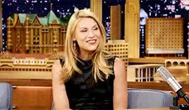 Watch and share The Tonight Show GIFs and Claire Danes GIFs on Gfycat