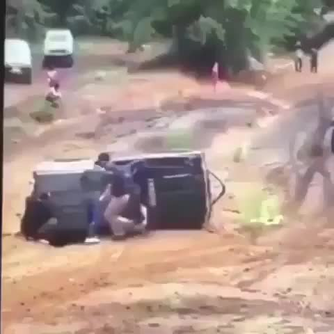 Watch and share There Was An Attempt To Flip A Jeep GIFs by bumpermoose on Gfycat
