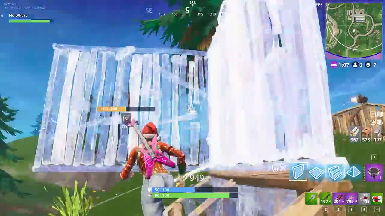 fortnite, pro, Fortnite Build Battle insane building speed GIFs