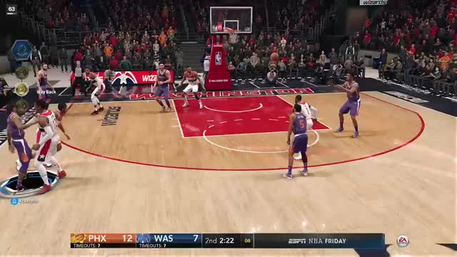 Watch this GIF by Xbox DVR (@xboxdvr) on Gfycat. Discover more ChrysiPuff, NBALIVE18TheOneEdition, Washington Wizards, basketball, xbox, xbox dvr, xbox one GIFs on Gfycat