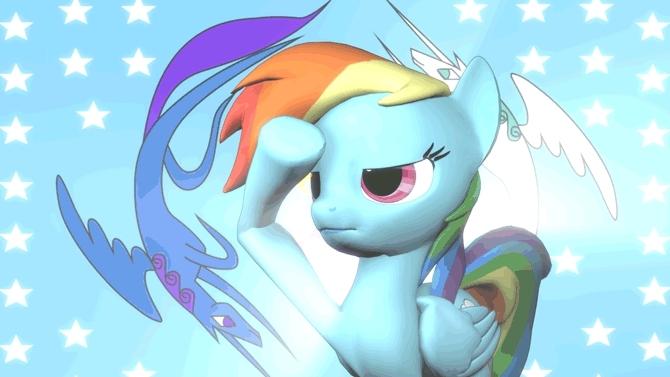 rainbow salute by argodaemon GIFs
