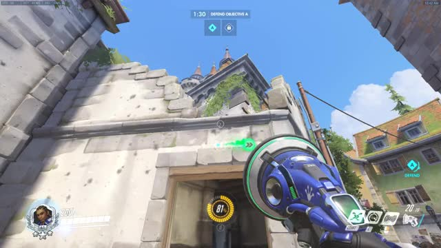 Watch and share Lucio Can Sound Barrier On Other Players GIFs by featherfallen on Gfycat