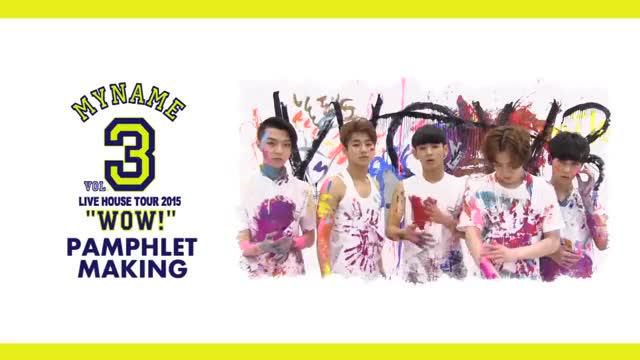 Watch 【MYNAME】 LIVE HOUSE TOUR 2015 WOW3 LIVE PAMPHLET MAKING GIF on Gfycat. Discover more CHAEJIN, Entertainment, GUNWOO, INSOO, JUNQ, MYNAME, MYNAMEJPN, SEYONG, マイネーム GIFs on Gfycat