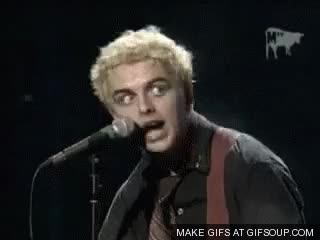 Watch and share Billie Joe Armstrong GIFs on Gfycat