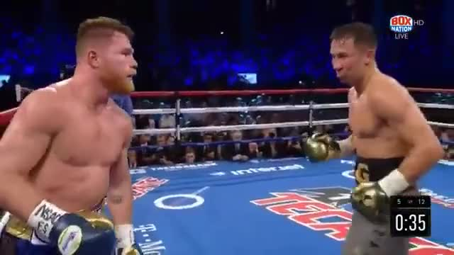 Watch golovkin vs canelo good quality GIF on Gfycat. Discover more related GIFs on Gfycat