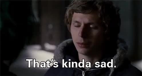 Watch and share Michael Cera GIFs and Sad GIFs on Gfycat
