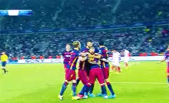 Watch and share Uefa Super Cup 2015 GIFs and Javier Mascherano GIFs on Gfycat