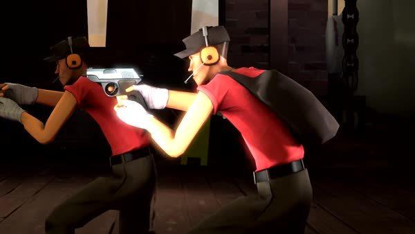 sfm, Pistol reload animation test for fun (reddit) GIFs