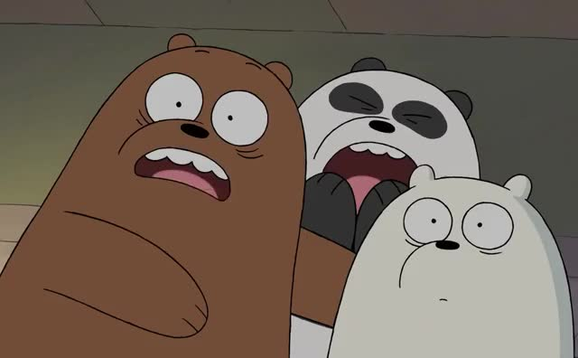 Watch this curated GIF by GIF Queen (@ioanna) on Gfycat. Discover more afraid, bare, bears, cartoon, fuck, god, halloween, heck, horrifies, my, network, oh, omg, scared, scary, scream, the, we, what, wtf GIFs on Gfycat