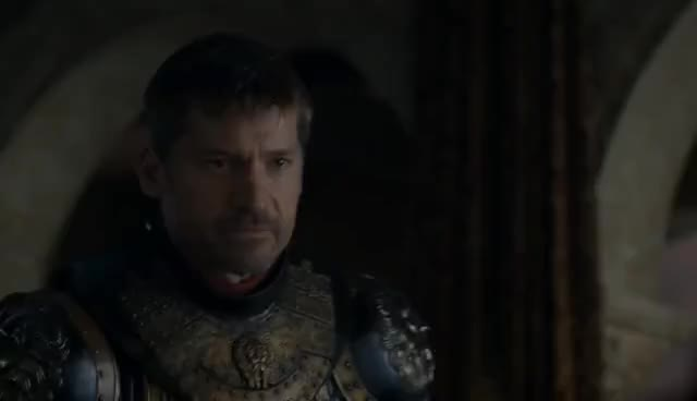 game of thrones, got, hbo, Game of Thrones 7x07 - Jaime Lannister leaves King's Landing GIFs