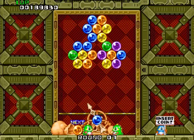 Watch and share Classic Video Game GIFs and Puzzle Bobble GIFs by riddengray on Gfycat